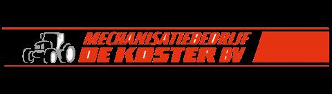 Logo Mechanisatiebedrijf De Koster